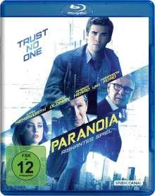 Paranoia (Blu-ray), Blu-ray Disc