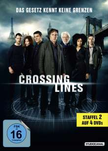 Crossing Lines Staffel 2, 4 DVDs