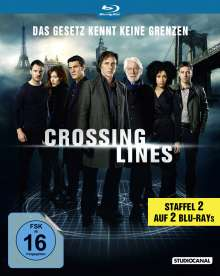 Crossing Lines Staffel 2 (Blu-ray), 2 Blu-ray Discs