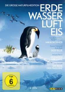 Erde Wasser Luft Eis, 5 DVDs