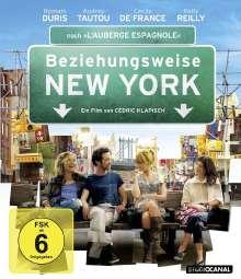 Beziehungsweise New York (Blu-ray), Blu-ray Disc