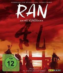 Ran (4K Digital Remastered) (Blu-ray), 2 Blu-ray Discs