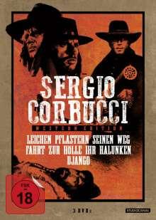 Sergio Corbucci Western Edition, 3 DVDs