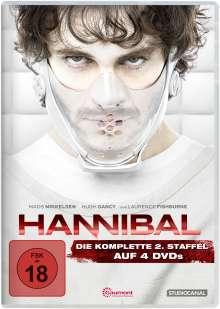 Hannibal Staffel 2, 4 DVDs