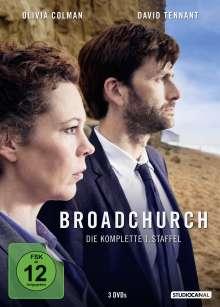 Broadchurch Staffel 1, 3 DVDs
