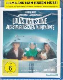 Louis und seine außerirdischen Kohlköpfe (Blu-ray), Blu-ray Disc