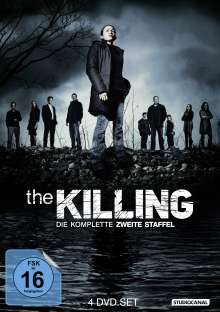 The Killing Season 2, 4 DVDs