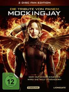 Die Tribute von Panem - Mockingjay Teil 1 (Fan Edition im Digipack), 2 DVDs