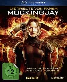 Die Tribute von Panem - Mockingjay Teil 1 (Fan Edition im Digipack) (Blu-ray), Blu-ray Disc