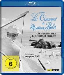 Die Ferien des Monsieur Hulot (Blu-ray), Blu-ray Disc