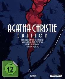 Agatha Christie Edition (Blu-ray), 4 Blu-ray Discs