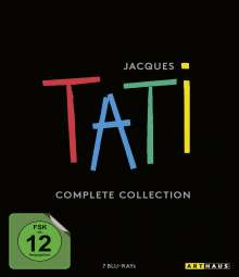 Jacques Tati Complete Collection (Blu-ray), 7 Blu-ray Discs