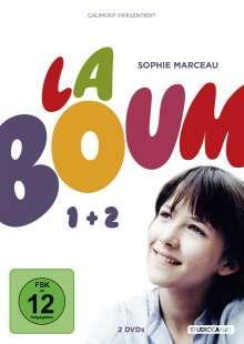 La Boum 1+2, 2 DVDs