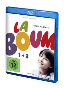 La Boum 1+2 (Blu-ray), 2 Blu-ray Discs