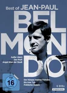 Best of Jean Paul Belmondo, 6 DVDs