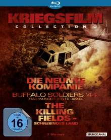 Kriegsfilm Collection 2 (Blu-ray), 3 Blu-ray Discs