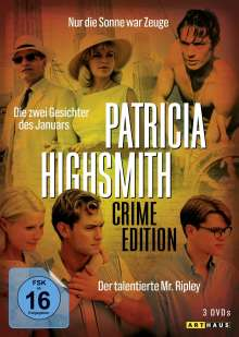 Patricia Highsmith: Crime Edition, 3 DVDs