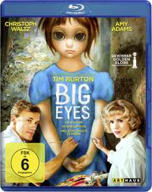Big Eyes (Blu-ray), Blu-ray Disc
