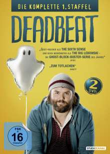 Deadbeat Season 1, 2 DVDs