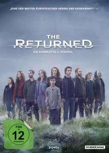 The Returned Season 2, 3 DVDs