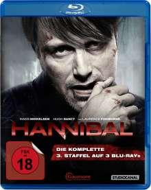 Hannibal Staffel 3 (Blu-ray), 3 Blu-ray Discs