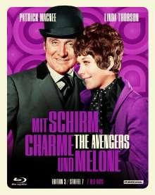 Mit Schirm, Charme und Melone Edition 3: Staffel 7 (Blu-ray), 9 Blu-ray Discs