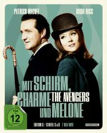 Mit Schirm, Charme und Melone Edition 2: Staffel 5 & 6 (Blu-ray), 7 Blu-ray Discs