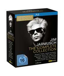Jim Jarmusch - The Complete Movie Collection (Blu-ray), 12 Blu-ray Discs