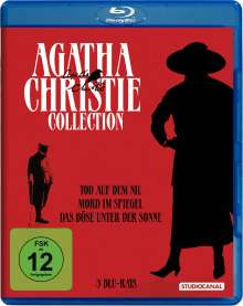 Agatha Christie Collection (Blu-ray), 3 Blu-ray Discs
