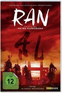 Ran (4K Digital Remastered), 2 DVDs