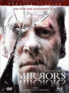 Mirrors (Blu-ray & DVD im Mediabook), 1 Blu-ray Disc und 1 DVD