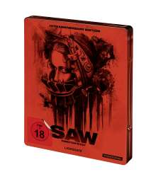 Saw (10th Anniversary Edition) (Blu-ray im Steelbook), Blu-ray Disc