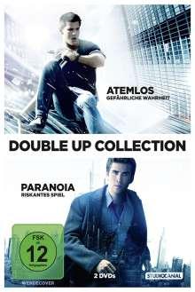 Atemlos - Gefährliche Wahrheit / Paranoia - Riskantes Spiel, 2 DVDs