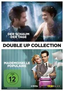 Der Schaum der Tage / Mademoiselle Populaire, 2 DVDs