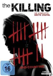 The Killing Season 3, 4 DVDs