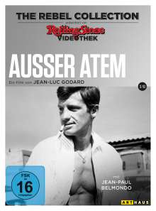 Ausser Atem (The Rebel Collection), DVD