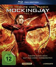 Die Tribute von Panem - Mockingjay Teil 2 (Fan Edition im Digipack) (Blu-ray), Blu-ray Disc