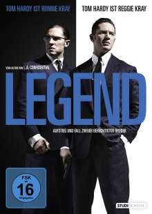 Legend, DVD