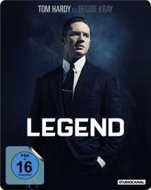 Legend (Blu-ray im Steelbook), Blu-ray Disc