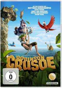Robinson Crusoe (2015), DVD