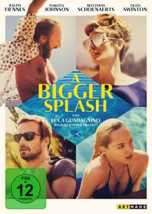 A Bigger Splash, DVD