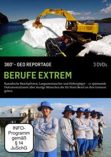 360° Geo-Reportage: Berufe extrem, 3 DVDs