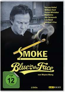 Smoke / Blue in the Face, 2 DVDs