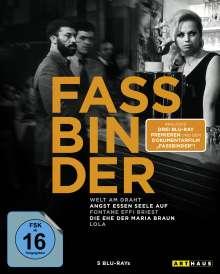 Fassbinder Edition (Blu-ray), 3 Blu-ray Discs
