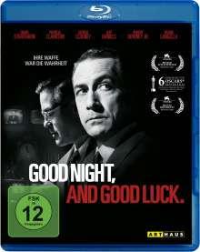 Good Night, and Good Luck. (Blu-ray), Blu-ray Disc