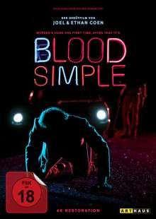 Blood Simple, DVD