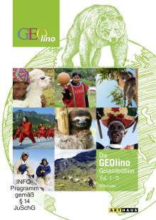 Die GEOlino Reportage Vol. 1-5, 5 DVDs