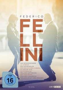 Federico Fellini Edition, 10 DVDs