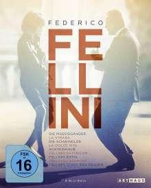 Federico Fellini Edition (Blu-ray), 9 Blu-ray Discs