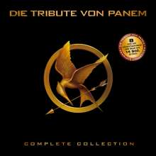 Die Tribute von Panem (Limited Complete Collection), 8 DVDs